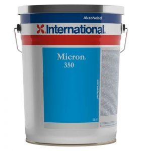 International Micron 350 Antifouling 5Lt Black YBB623 #458COL1148