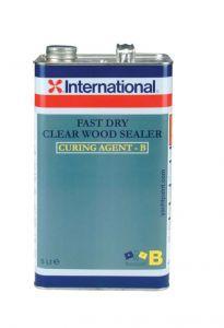 International Clear Wood Sealer Fast Dry Primer Part B 5Lt Transparent #458COL1092