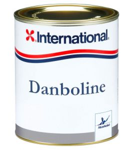 International Danboline 750ml Grey Hard Wearing Coating #N702458COL691