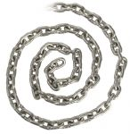 Stainless steel calibrated chain Ø10mm 25mt #OS0137510-025