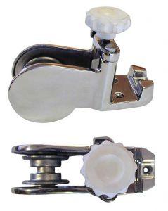 Musone di Prua in Inox Versione Corta 205x105x155mm Puleggia inox #OS0135001