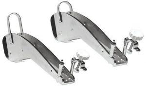 Muson in inox per Delta Bruce Trefoil Ancore Fino 6/10Kg Doppia Pulegga Inox #OS0133601