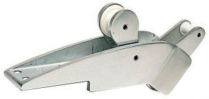 Musone di Prua a Ribalta in Alluminio Ancore max 15kg 410x160x250x62x25x95mm #OS0133610