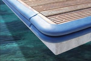 TRE Dock fender Blue 800x90x45mm #OS3351902