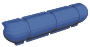 Paracolpo pontile Bigfender - Blu - 900x250x190mm #OS3351904