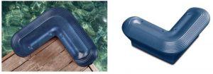 Paracolpo pontile Bend Fender - Blu - 330x250x110mm #OS3351908