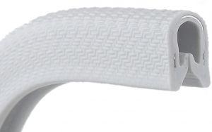 Profilo in PVC - Per spessori 4/6mm Bianco Venduto al metro #N10203012863