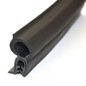 Profilo Nero con guarnizione in Neoprene - Venduto al metro #OS4449300