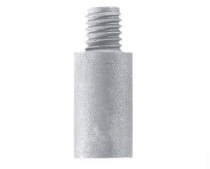 Anodo di Zinco a Barilotto per Scambiatori di Calore CATERPILLAR ∅ 12,5X38+10 mm #N80605030351