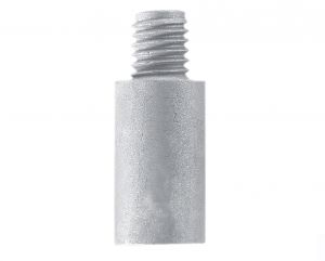 Anodo di Zinco a Barilotto per Scambiatori di Calore 116-7011 CATERPILLAR ∅ 9x35+11 mm #N80605030352