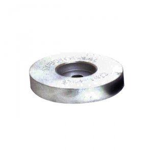 Anodo di Zinco a Rondella per Poppa ∅ 120x25 mm 2,00 Kg #OS4321005