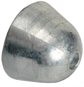 Spare Ogive Zinc Anode for VETUS 0151 BOW Propeller 130 - 160 #OS4307008