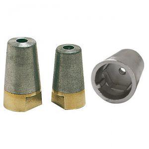Complete Propeller Zinc Anode with Bolt Hexagonal Shaft Ø 40 mm #OS4325104
