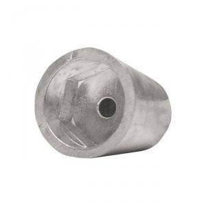 Anodo di Zinco ad Ogiva Esagonale Tipo Radice dal 1996 Asse ∅ 60 mm #N80605430146