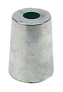 Anodo di Zinco ad Ogiva per Linea Asse Radice ∅ Base 46 mm #N80605830192