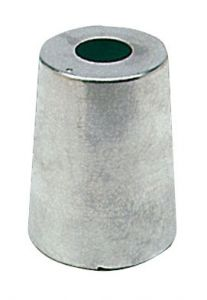 Anodo di Zinco ad Ogiva per Linea Asse Radice ∅ Base 61 mm #N80605830194