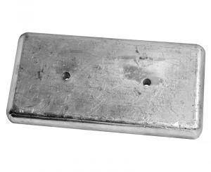 ARNESON 300x150 mm 8,00 Kg Transmission Zinc Anode for Bolt Mounting #OS4392007