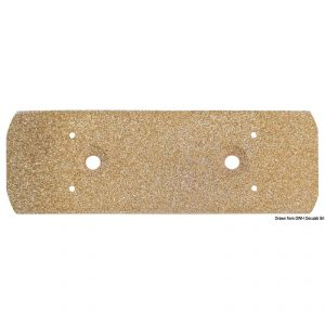 Ground plate in porous bronze - 155x51mm #OS2963001