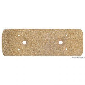 Piastra di massa in bronzo poroso - 155x51mm #OS2963001