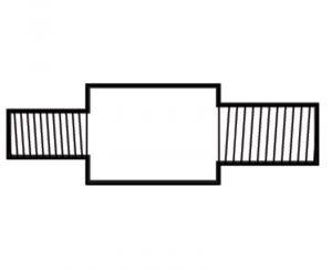 Anodo di Zinco a Barilotto per Scambiatori di Calore VM ∅ 14,5x36 mm #OS4322914