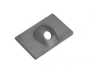 Zinc Plate Anode 42121 MERCURY MARINER MERCRUISER 6>15HP #N80607030556