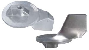 Zinc Fin Anode 822777 for MERCURY MARINER MERCRUISER 35 - 225 Hp engines #N80607030600