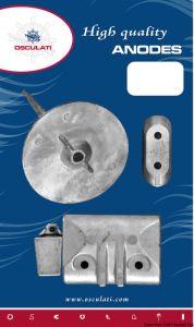 Kit 4 Pezzi Anodi di Zinco Fuoribordo YAMAHA 40 - 50 Hp #OS4335410