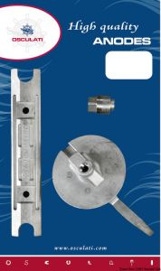 YAMAHA MARINER Outboard 80 - 100 Hp Kit Zinc Anodes 4 Pieces #N80607030629