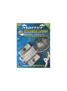 MERCURY 75 - 80 - 90 - 100 - 115 EFI Kit Zinc Anodes 4 Pieces #N80607030632