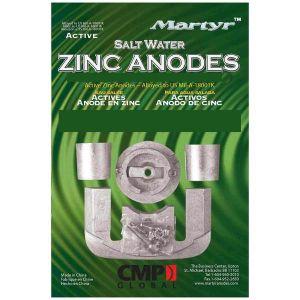Kit 5 Pezzi Anodi di Zinco MERCRUISER Bravo I dal 1988 ad oggi #N80607030635
