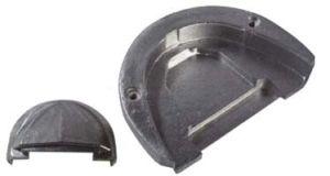 Anodo di zinco a placca - OMC COBRA #N80607130507