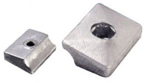 Zinc Plate Anode 338635 for OMC JOHNSON EVINRUDE engines #N80607130528