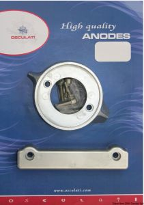 VOLVO 280 Kit Zinc Anodes 2 Pieces Interchangeables with the Original ones #OS4334000