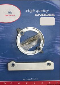 VOLVO 280 Duo Prop Kit Zinc Anodes 2 Pieces Interchangeables with the Original ones #OS4334100