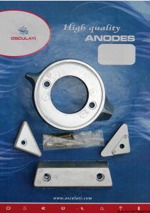 Kit 4 Pezzi Anodi di Zinco VOLVO 290 Intercambiabili con gli Originali #OS4334300