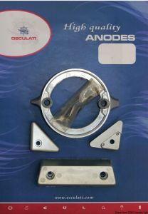 VOLVO 290 Duo Prop Kit Zinc Anodes Interchangeables with the Original ones #N80607230207