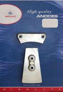 Kit 2 Pezzi Anodi di Zinco VOLVO DPH DPR Intercambiabili con gli Originali #OS4334500