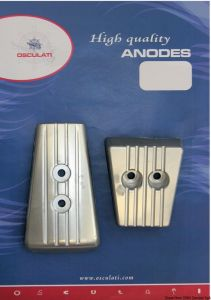 VOLVO SX A/DPS Kit Zinc Anodes 2 Pieces Interchangeables with the Original ones #N80607230209