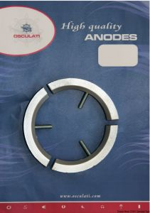 VOLVO 3 Blade Propeller D2-55 Kit Zinc Anodes Interchangeables with the Original ones #OS4334700