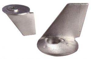 Anodo di Zinco a Pinna 348-60217-0 TOHATSU 35 - 40 Hp ∅ 50 mm #N80607330930