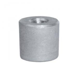 HONDA 40 - 50 - 60 Hp Cylinder Collector Zinc Anode 12155-ZV4-A00 #OS4329220