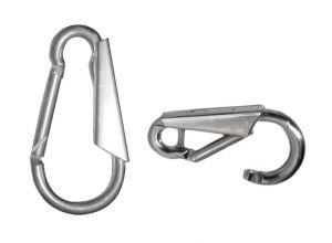 Bayonet type mooring hook in stainless steel 160 mm #OS3445914