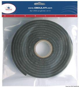 Adhesive tape for portholes, manholes, windows seals etc 10x20mm #OS1911520