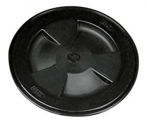 Screw-on inspection hatch D.204mm Black #N30211202034
