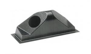 Cassonetti posteriori di convogliamento in ABS nero per presa d'aria Destro #OS5340302