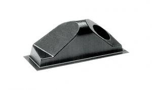 Cassonetti posteriori di convogliamento in ABS nero per presa d'aria Sinistro #OS5340303