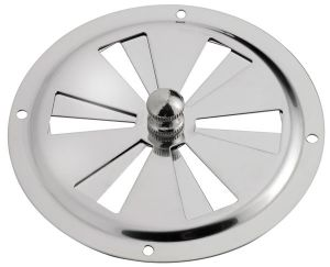 Stainless steel round air vent - D.127mm #OS5321455