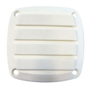 ABS louvre air vent 85x85mm White #N30511702013
