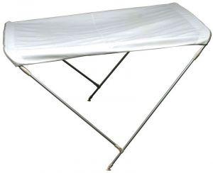 Folding 2 Bow Bimini D.180cm H.110cm W.150/160cm White #OS4690002
