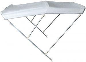 Tendalino Pieghevole 3 Archi P.180cm H.115cm L.200/210cm Bianco #OS4690823